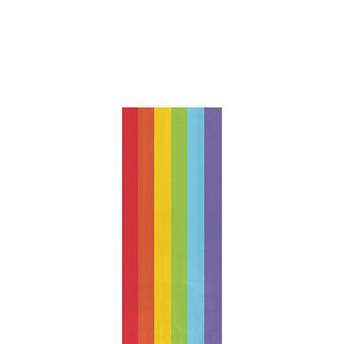 Small Rainbow Plastic Treat Bags 25ct Image #1