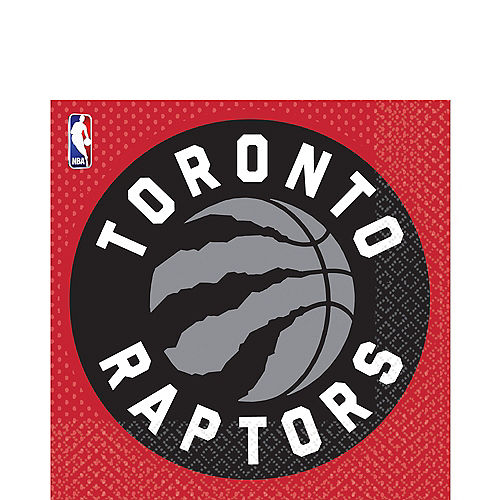 Toronto Raptors Lunch Napkins 16ct Image #1