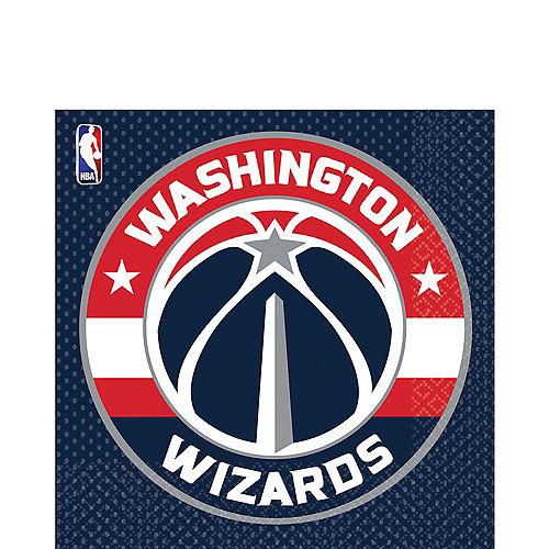 Washington Wizards Lunch Napkins 16ct Image #1