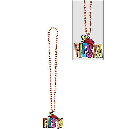 Fiesta Chili Pepper Pendant Bead Necklace Image #1