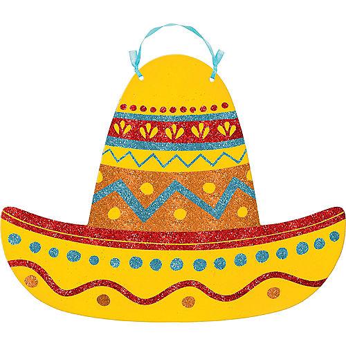 Glitter Sombrero Sign Image #1
