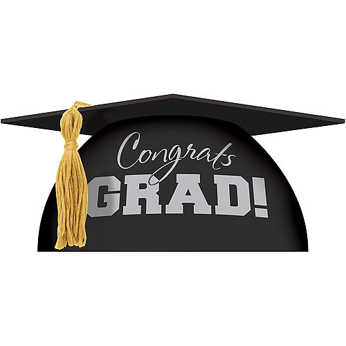 Graduation Cap Cake Topper Image #1