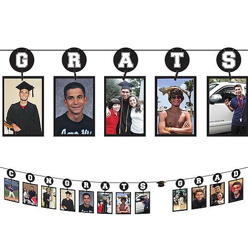 Congrats Grad Photo Garland Image #1