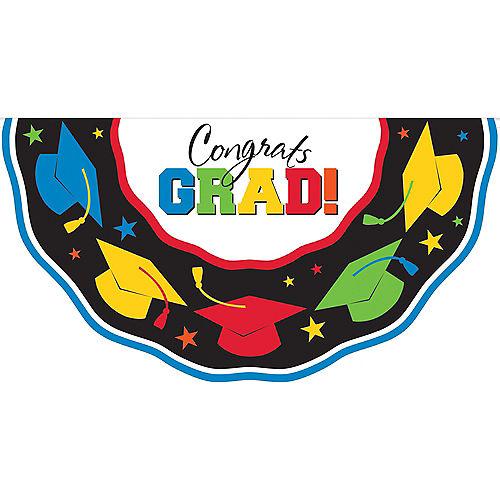 Multicolor Graduation Bunting Image #1