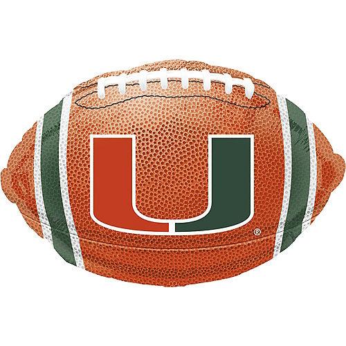 Miami Hurricanes Balloon - Football Image #1
