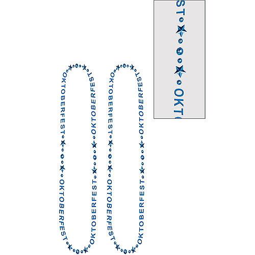 Blue Oktoberfest Bead Necklaces 2ct Image #1