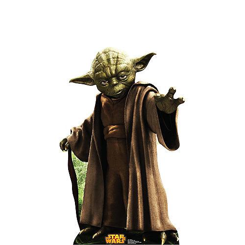 Yoda Life-Size Cardboard Cutout - Star Wars Image #1
