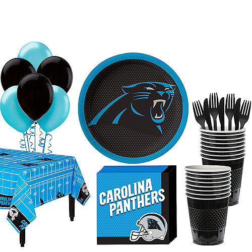 Carolina Panthers Super Party Kit for 18 Guests Image #1