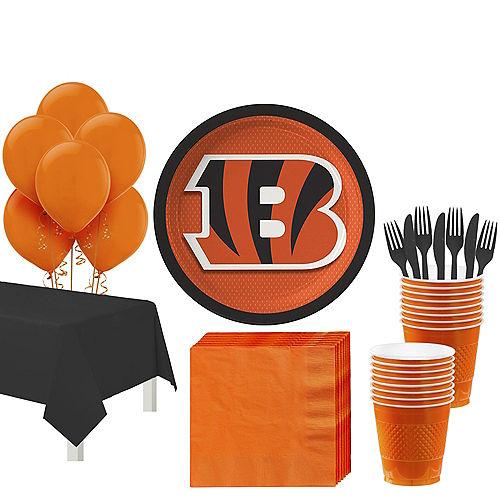 Super Cincinnati Bengals Party Kit for 18 Guests Image #1