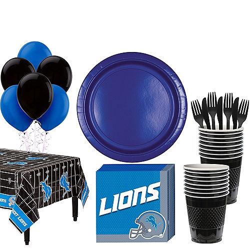 Super Detroit Lions Party Kit for 18 Guests Image #1