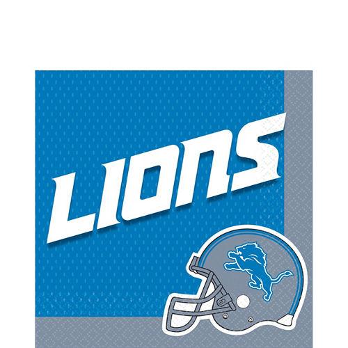 Super Detroit Lions Party Kit for 18 Guests Image #3
