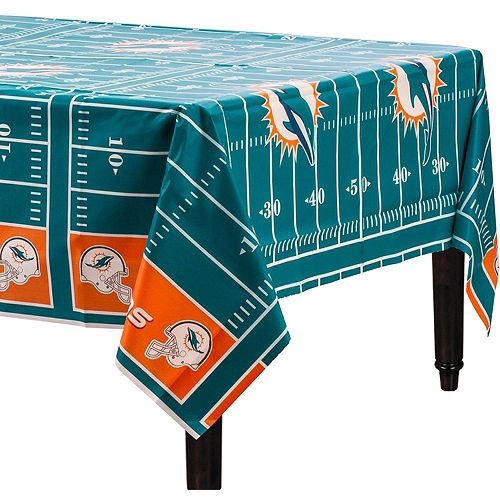 Super Miami Dolphins Party Kit for 18 Guests Image #5