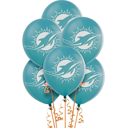 Super Miami Dolphins Party Kit for 18 Guests Image #6