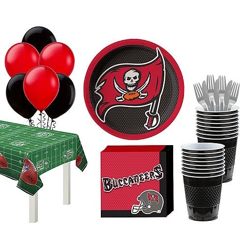 Super Tampa Bay Buccaneers Party Kit for 18 Guests Image #1