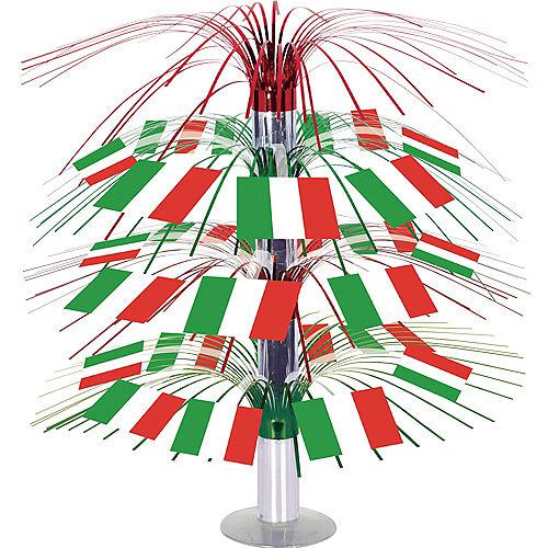 Italian Flag Cascade Centerpiece Image #1