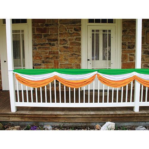 Green, White & Orange Bunting Image #2