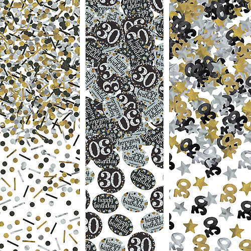 30th Birthday Confetti - Sparkling Celebration Image #1
