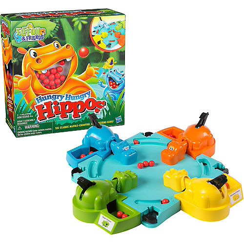 Hungry Hungry Hippos Game Image #1