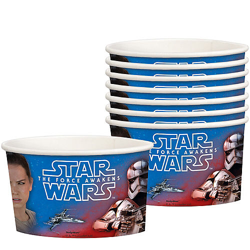 Star Wars 7 The Force Awakens Treat Cups 8ct Image #1