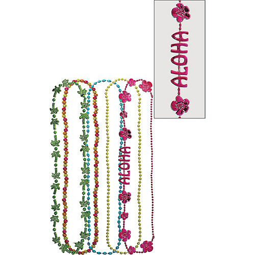 Tropical Bead Necklaces 5ct Image #1
