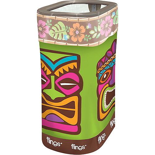 Tropical Tiki Pop-Up Trash Bin Image #1
