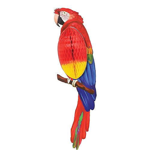 Parrot Honeycomb Decoration Image #1