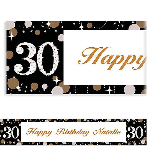Custom Sparkling Celebration 30 Banner Image #1