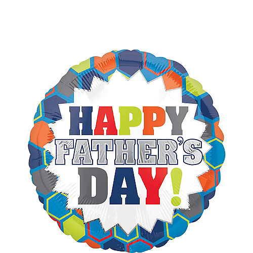 Colorful Father's Day Balloon, 17in Image #1