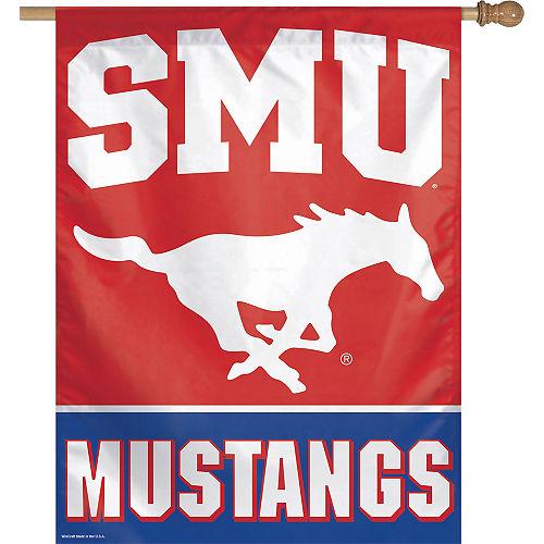 SMU Mustangs Banner Flag Image #1
