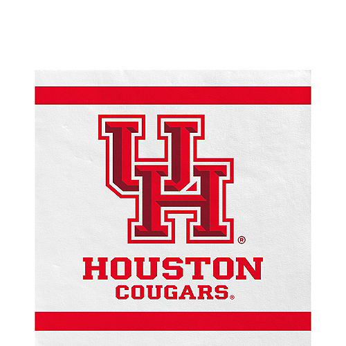 Houston Cougars Lunch Napkins 20ct Image #1