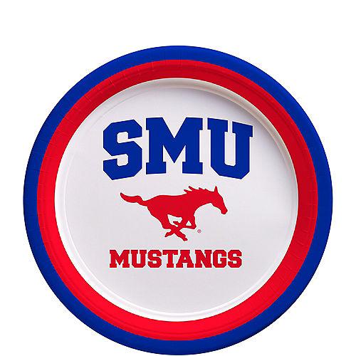 SMU Mustangs Dessert Plates 12ct Image #1