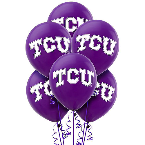 TCU Horned Frogs Balloons 10ct Image #1