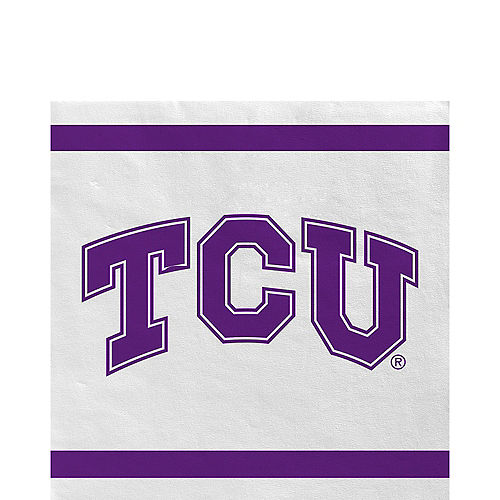 TCU Horned Frogs Lunch Napkins 20ct Image #1