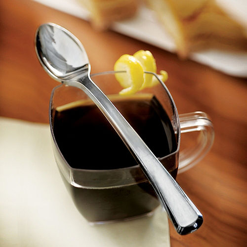 Mini Silver Plastic Spoons 30ct Image #2