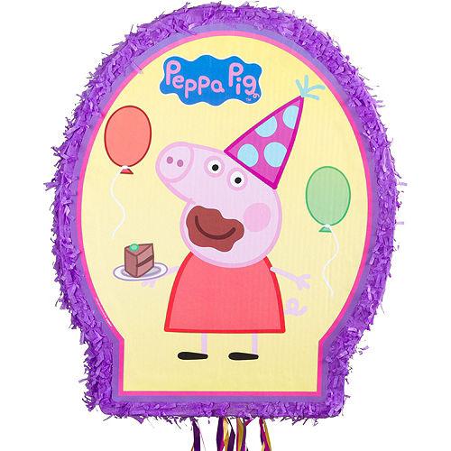 Pull String Peppa Pig Pinata Kit Image #2