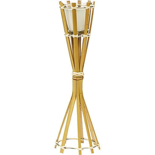Bamboo Tiki Torch Candle Holder Image #1
