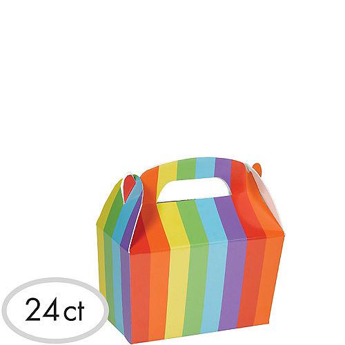 Rainbow Gable Boxes 24ct Image #1