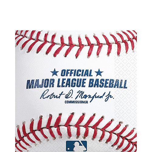 MLB Baseball Lunch Napkins, 16ct Image #1