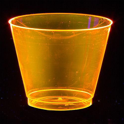 Big Party Pack Black Light Neon Plastic Tumblers 72ct Image #3