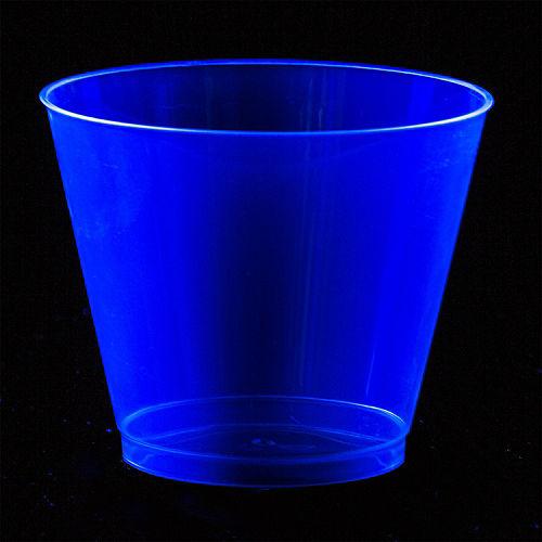 Big Party Pack Black Light Neon Plastic Tumblers 72ct Image #5