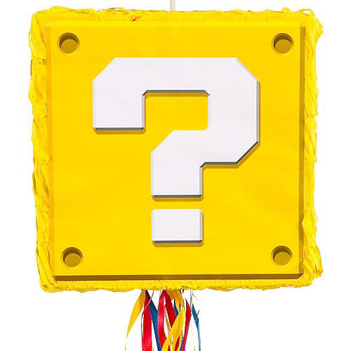Pull String Question Block Pinata - Super Mario Image #1