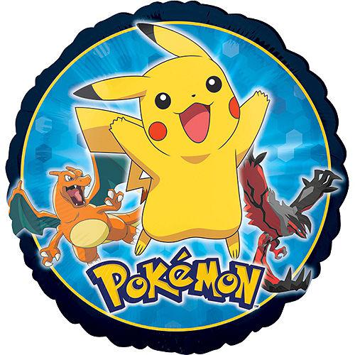 Pokemon 1st Birthday Balloon Bouquet 5pc Image #3