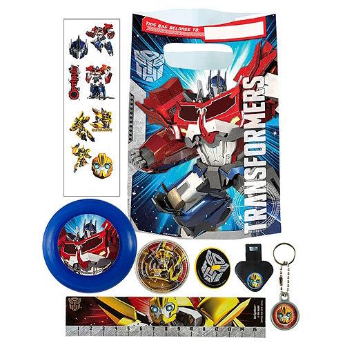 Transformers Basic Favor Kit for 8 Guests Image #1