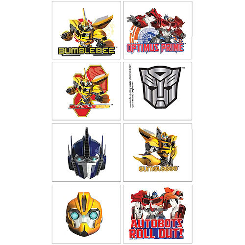 Transformers Basic Favor Kit for 8 Guests Image #2