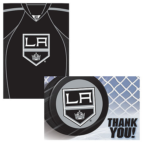 Los Angeles Kings Invitations & Thank You Notes For 8 Image #1