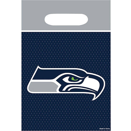 Seattle Seahawks Favor Bags 8ct Image #1