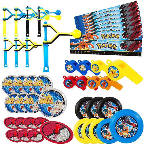 Pull String Pokeball Pinata Kit with Favors - Pokemon Image #4