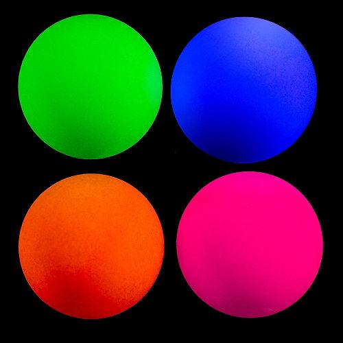 Black Light Neon Pong Balls 24ct Image #2