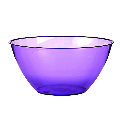 Medium Purple Plastic Bowl Image #1