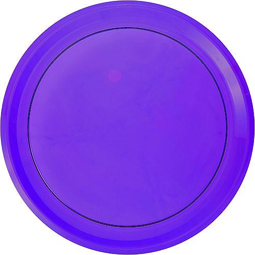 Purple Plastic Round Platter Image #1
